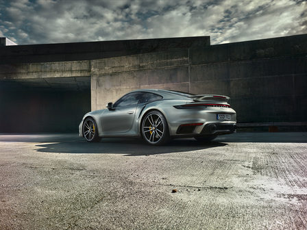 The new 911 Turbo S.