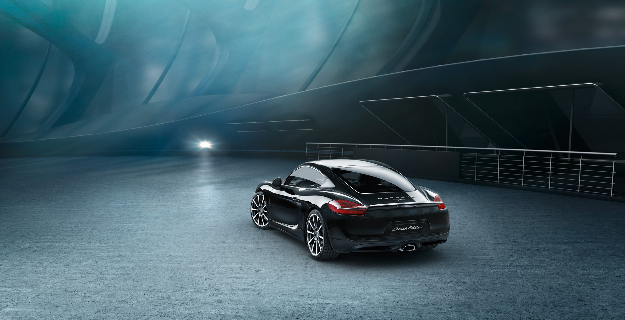 The new Cayman Black Edition. Object of desire.